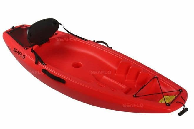 CHILD'S SIT ON TOP KAYAK (SF-1002) - RED kids child junior kid DELIVERY